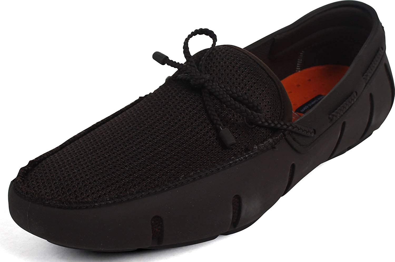 SWIMS Braided Lace Loafer Brown 7 M