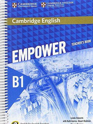 Cambridge English Empower for Spanish Speakers B1 Teacher's Book