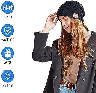 Beanie Wireless Headphone,Beanie Music Hat,3D Stereo Bass More Than 6H Use Time Bluetooth 5.0 HD Call More Warm,for Man Woman
