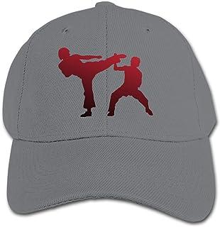 Kids Girls Boys Taekwondo Snapback Pure Baseball Cap Outdoor Sports