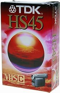 TDK 45HS Video Cassette 45 min 1 Pieza(s) - Cinta de Audio/Video (45 min 1 Pieza(s))