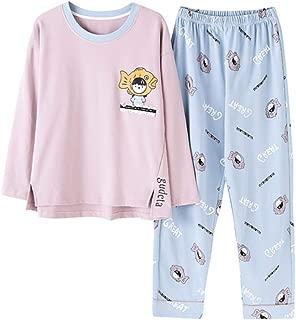 et/à 9-15/anni pigiama a maniche lunghe Pigiama da ragazza con smiley Emoji LOL Laugh out Loud e scritta
