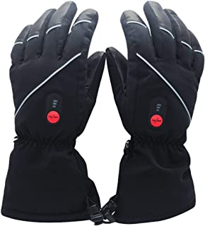 ed Gloves for Men Women, Electric Heated Gloves,Heated Ski Gloves