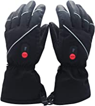 Savior Heated Gloves for Men Women, Electric Heated Gloves,Heated Ski Gloves