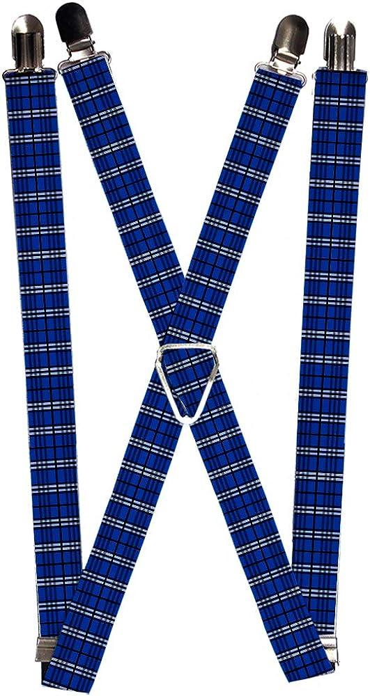 Buckle-Down Suspender - Plaid