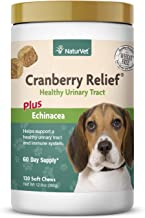 NaturVet – Cranberry Relief Plus Echinacea – Helps Support a Healthy Urinary Tract & Immune System