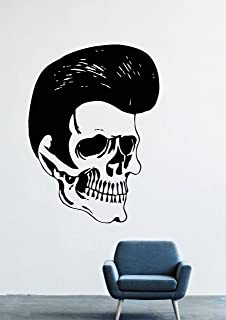 Elvis Aaron Presley Rock'n'roll Gospel Country Music Dancing Twist Hairstyle Male Head Wall Decals Decor Vinyl Stickers LM1405