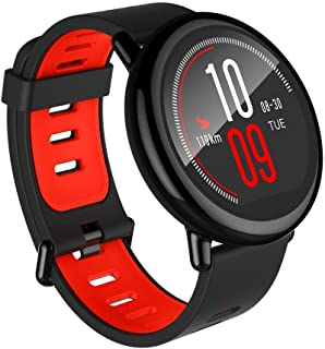(Renewed) Amazfit Pace A1612 Multisport Smartwatch (Black)