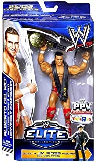WWE Elite Collection Exclusive Best of Pay-Per-View 2014 Alberto Del Rio Action Figure (Build Jim Ross) toy [...