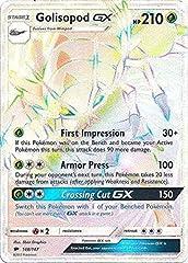 Name: Golisopod-GX (Hyper Rare) - 148/147 Set: SM Burning Shadows