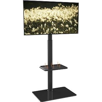 Soporte de Suelo con 2 Estantes,Giratorio y Altura Ajustablepara TV LCD LED OLED Plasma Plano 19-42 Pulgadas: Amazon.es: Electrónica