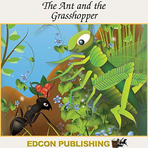The Ant and the Grasshopper audiobook cover art