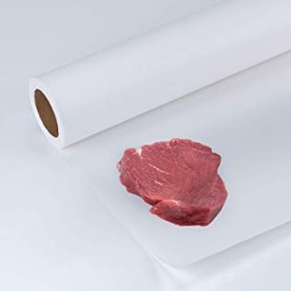 Sponsored Ad - RUSPEPA Poly Coated Freezer Paper Roll for Wrapping Meat, Cheese and Fish - 17.5 inch x 100 Feet, White