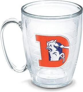 Tervis NFL Denver Broncos Legacy Emblem Individual Mug, 16 oz, Clear - 1049240