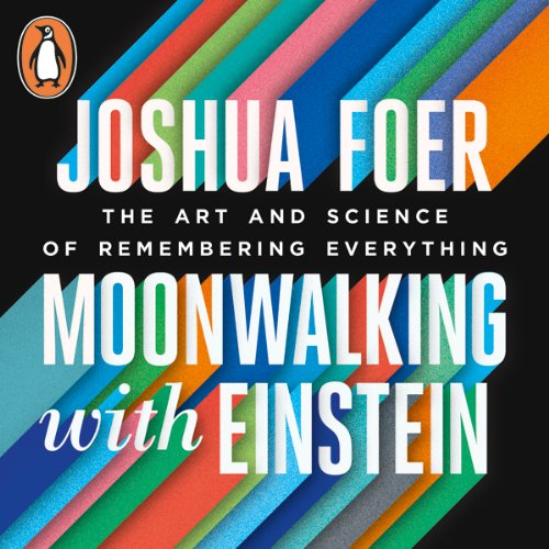 Moonwalking with Einstein audiobook cover art