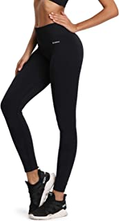 Women's Yoga Pants, High Waist Tummy Control Seamless Running Pants