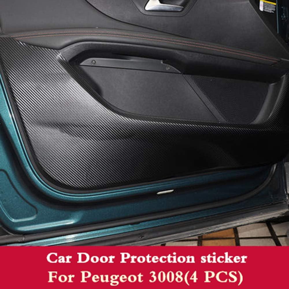 LUVCARPB 4 years warranty pcs Car Door PU Pad Anti Leather Outstanding Sticker Pr Kick