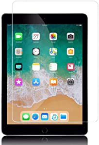 TSQ iPad Air Screen Protector 1st 2nd Generation | Glass Screen Protector for iPad Pro 9.7 2016/ iPad 5th 6th Generation 2017 2018 | Tempered Glass Compatible with iPad 9.7 Inch (1 Piece)