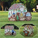 Homfu Kinder Spiel-Zelt für Jungen Mädchen draußen Camping Reisen Kinder Spiel-Zelt mit Pop-up...