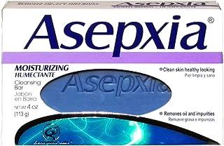 Asepxia Barra de limpieza humectante hidratante 3.53oz (Paquete de 5)