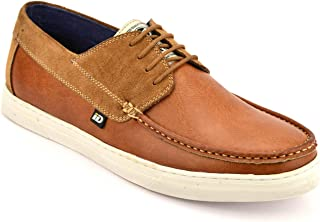 ID Men's Tan Casual Shoes