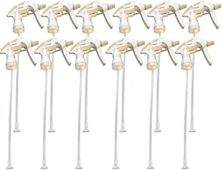 The Bucko Replacement Industrial Trigger Sprayers (12) – Trigger and Nozzle Spray Head for 32 Oz Bottles| Replacement Part for Spray Bottles