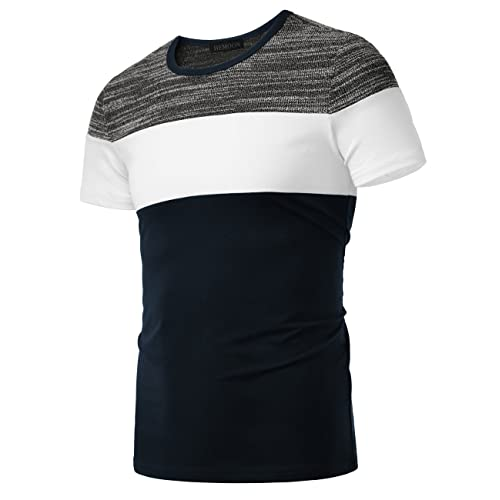 Hot Mens Casual Shirts Business Dress T-shirt Long Sleeve Slim Fit Top Simple SF