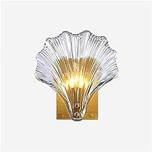 Wall Lamp Postmodern Crystal Wall Lamp Light Luxury Bedroom Living Room Wall Light Creative Shell Home Room Decor Corridor...