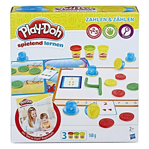 Hasbro Play-Doh B3406100 - Erste Zahlen und Zählen, Knete