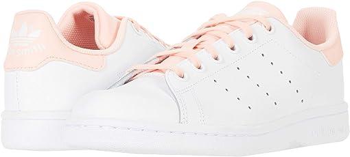Footwear White/Haze Coral/Haze Coral