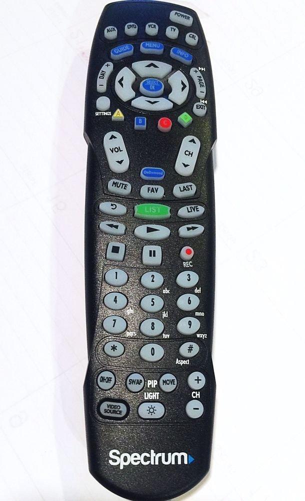 Mando Spectrum RC 122 Remplazo a Distancia Para Televisión