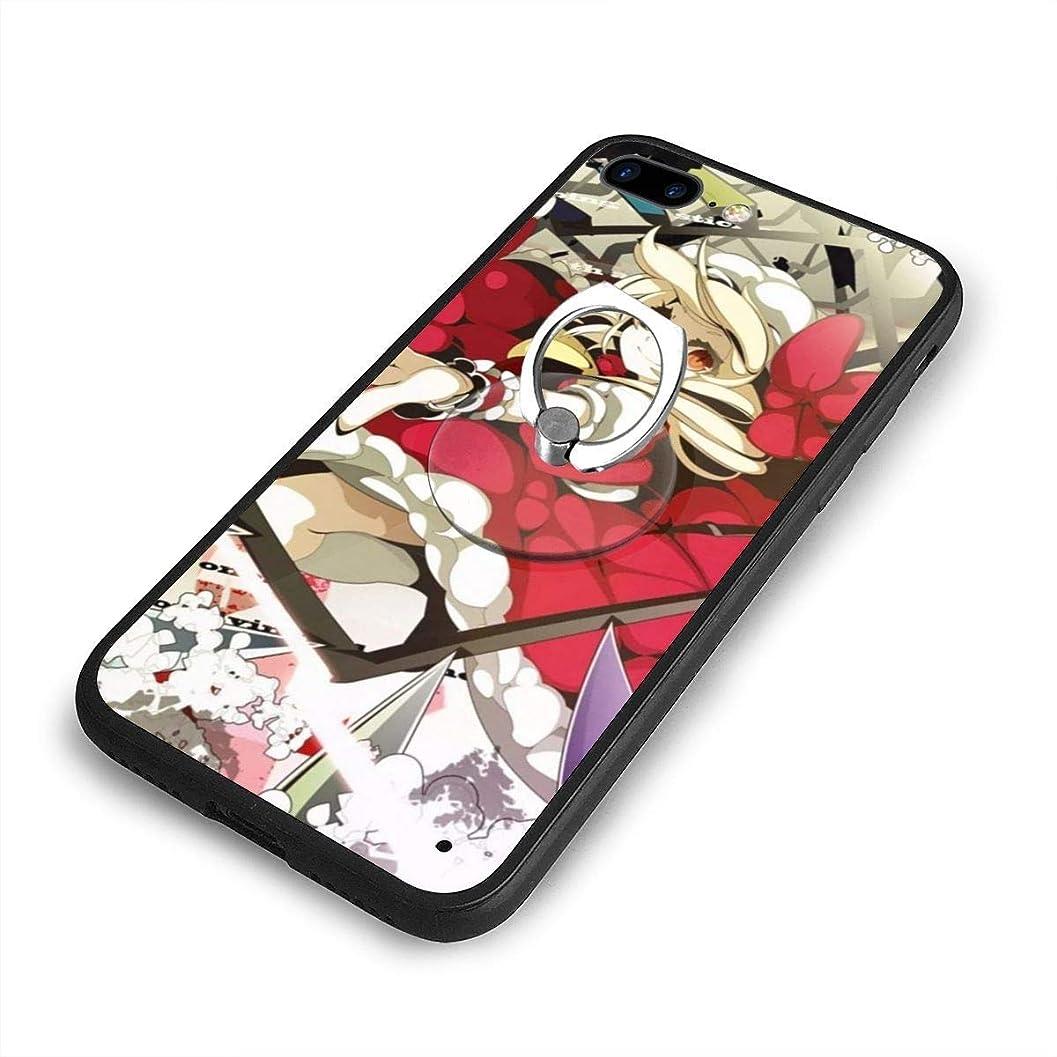 ゆり興味遷移東方ProjectプロジェクトiPhone 7/8 Plusケースリングブラケット 携帯カバー 創意デザイン軽量 傷つけ防止 360°回転ブラケット 携帯ケース PC 衝撃防止 全面保護