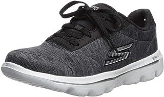 حذاء الركض جو واك ايفولوشن الترا من سكيتشرز، للرجال، اسود (اسود/ابيض)