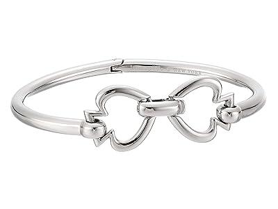 Kate Spade New York Spade Link Bangle (Silver) Bracelet