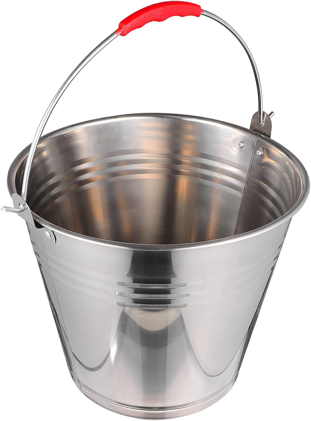 Hemoton Ice New life Bucket A surprise price is realized Stainless Steel Container C Beverage Beer