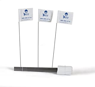 Universal Electric Dog Fence Flags Quantity Works as a Visual Boundary for Every Fence System Underground or Wireless Compatible – Petsafe and Invisible Fence Compatible.