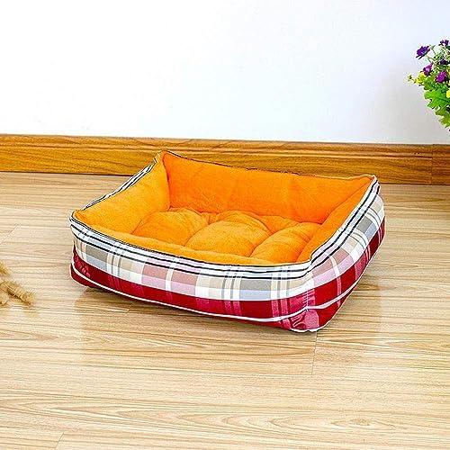 WMZX SDSA Pet Bed Kennel Biting Tapis de Couchage for Animaux de Compagnie Coussin Lavable Complet Teddy House 40x30x13cm