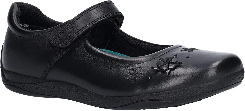 Hush Puppies Womens Candy Junior Velcro shoes Black Size UK 1.5 EU 33.5