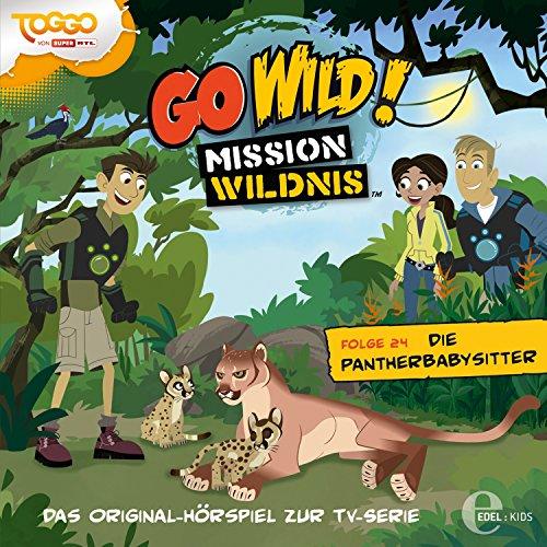 Die Pantherbabysitter (Go Wild - Mission Wildnis 24) Titelbild