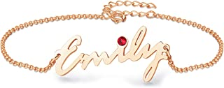 Best personalized name anklets cheap Reviews