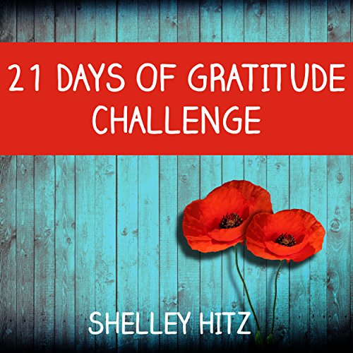 21 Days of Gratitude Challenge audiobook cover art