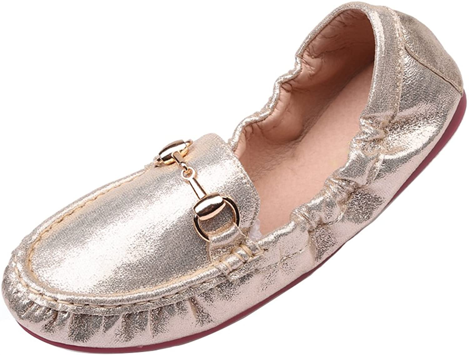 Kyle Walsh Pa Womens Classic Metal Buckle Flat Slip-On