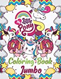 My Little Pony Coloring Book Jumbo: Amazing Coloring Book for Kids and Adults, Boys, Girls, Fun Book For Ages 2-4, 5-12