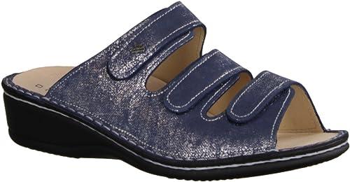 Finn Finn Comfort Pisa Pantolette bleu  vente en ligne