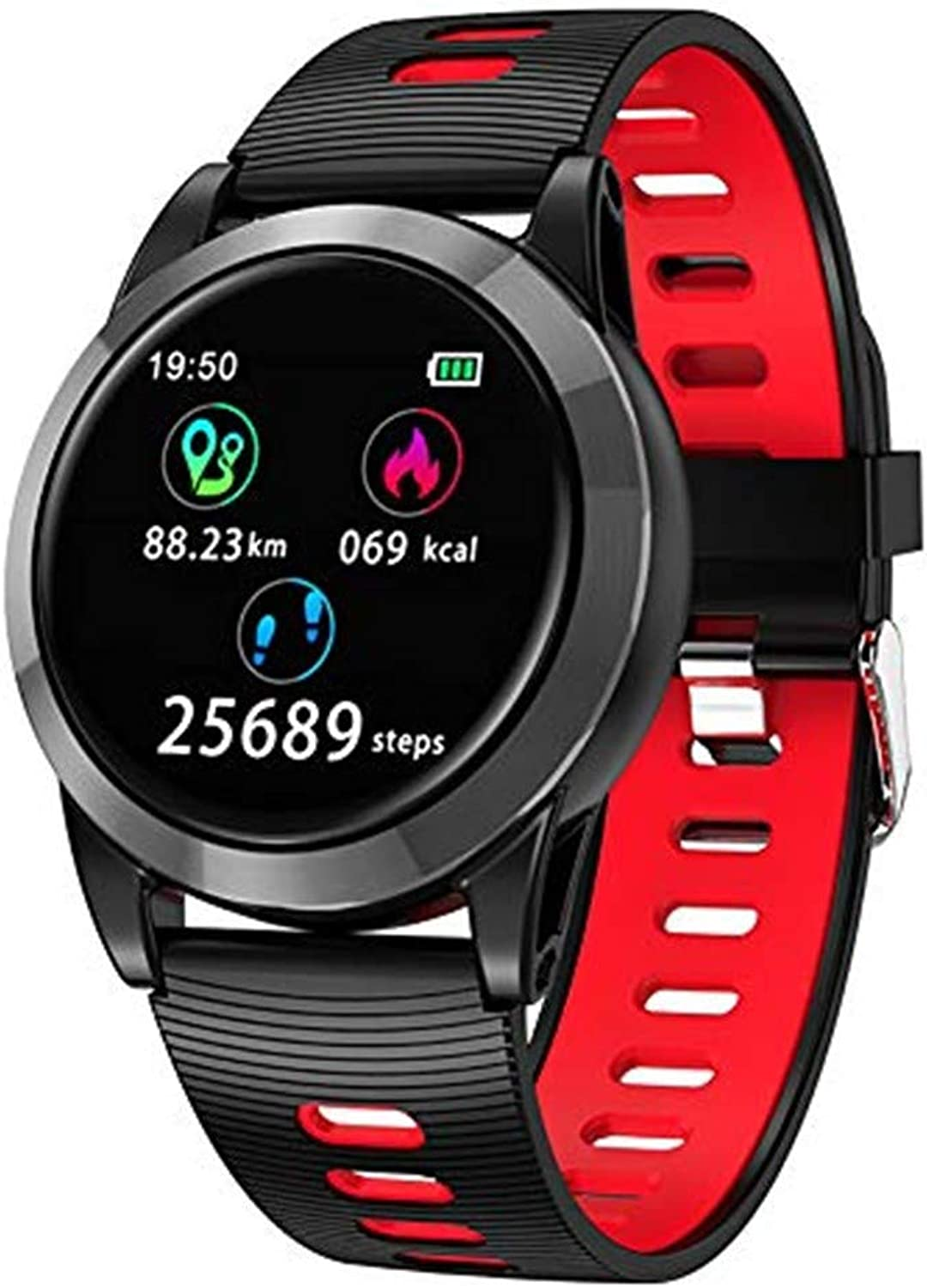 Smart Watches, Fitness Monitors, Heart Rate Monitors and Blood Pressure Monitors for Men and Women Outdoors, Smart Sports Watches for Android and iOS
