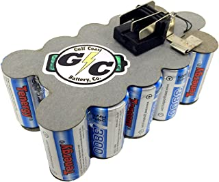 G/C Battery Co. Compatible UPGRADED 3.8Ah NiMH Replacement Battery Internals for Milwaukee 18V 48-11-2230