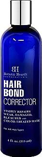 BOTANIC HEARTH Hair Treatment Bond Corrector for Damaged, Weak, Bleached and Color Treated Hair, 4 fl oz