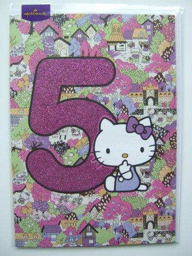 Hello Kitty Geburtstagskarte, Stück: 1