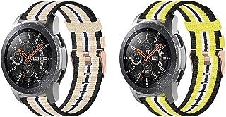 Gransho® compatibel met Garmin Venu/Venu SQ/Venu Sq Music/Approach S40 / Vivomove HR Sport Watch Straps, Nylon Sport Loop ...