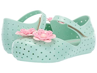 Mini Melissa Mini Furadinha XII (Toddler/Little Kid) (Green) Girls Shoes